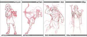 Ephyran 4 nieuwe goden
