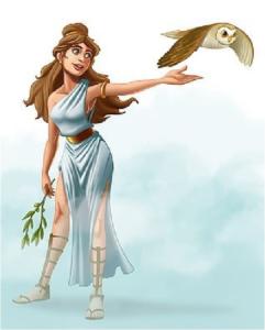De godin Athena